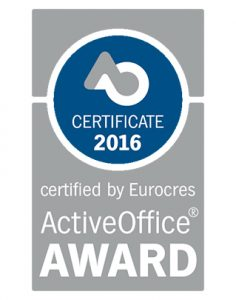 Gymba Active Office Award